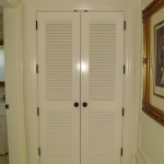 Painted Louver Doors