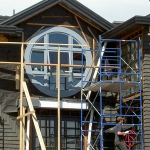Large Round installed