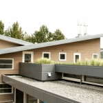 Architect designed wood window